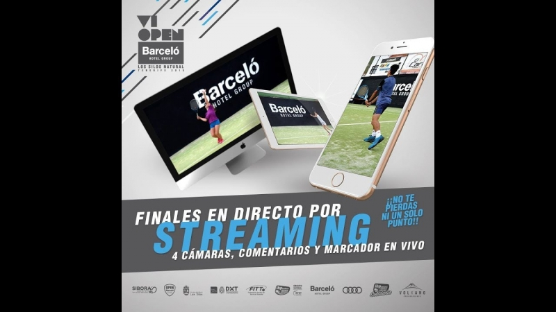 Final Masculina Open Barceló Hotel Group 2018