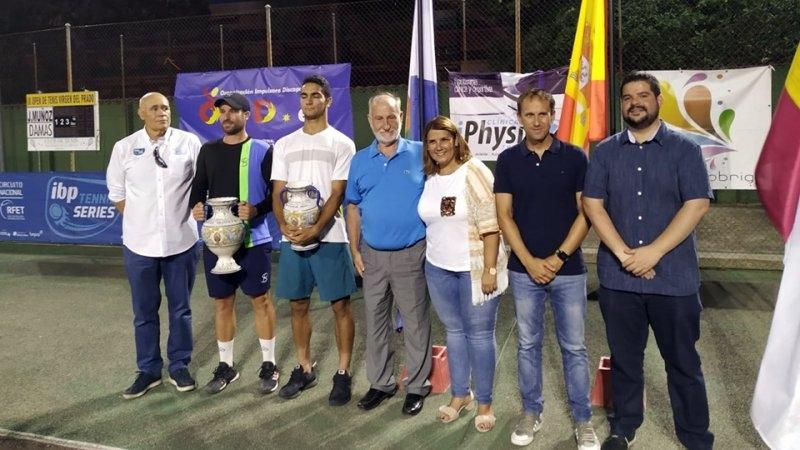 Muñoz Abreu, nuevo campeón en el Open Virgen del Prado