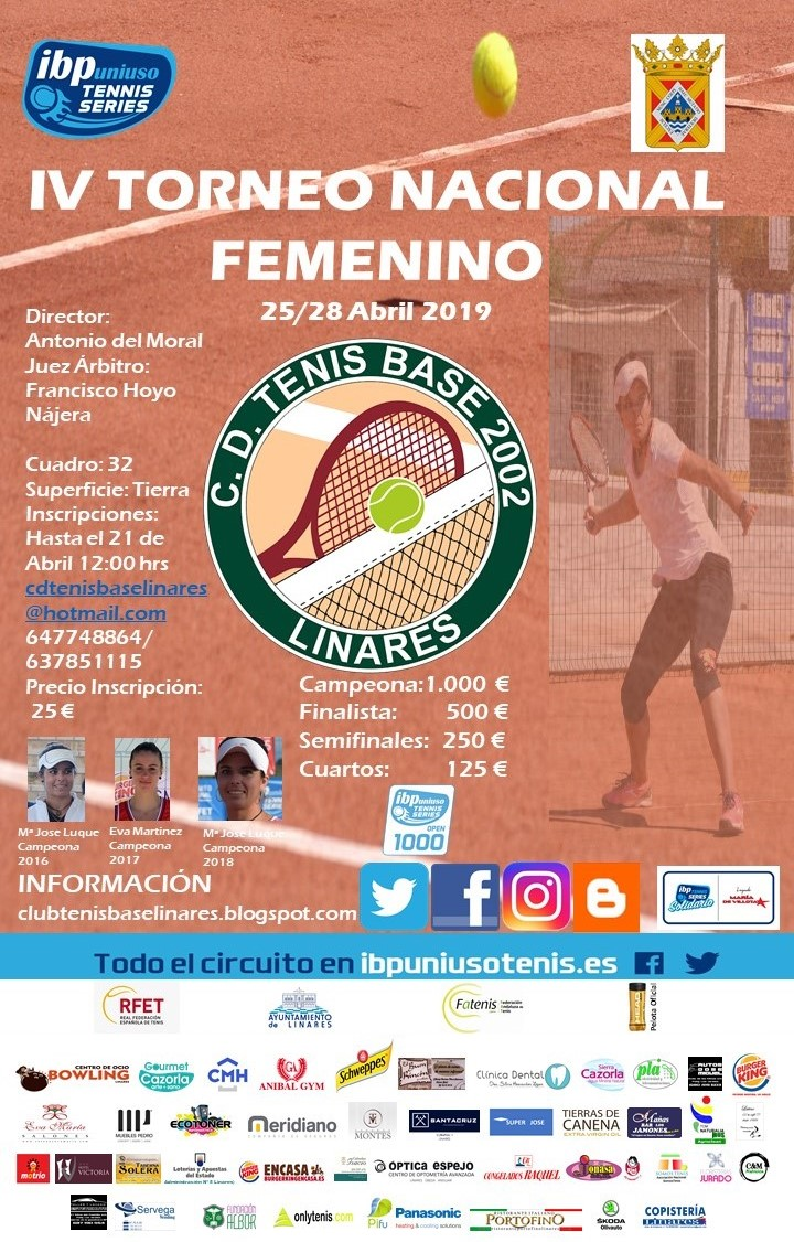 Torneo Tenis Base Linares