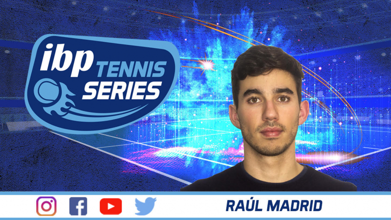 Raúl Madrid, nuevo responsable de Marketing, Comunicación y RR.SS. de IBP Tennis Series
